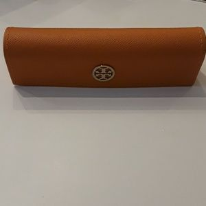 Tory Burch eye glasses case.